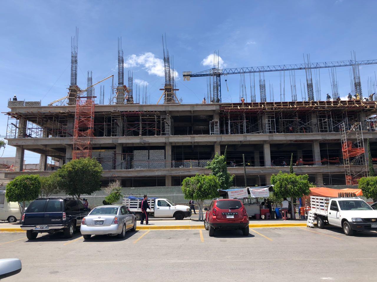 INFORMA LA SECRETARÍA DE SALUD QUE LA CONSTRUCCIÓN DEL HOSPITAL CENTRAL MUESTRA AVANCES IMPORTANTES.