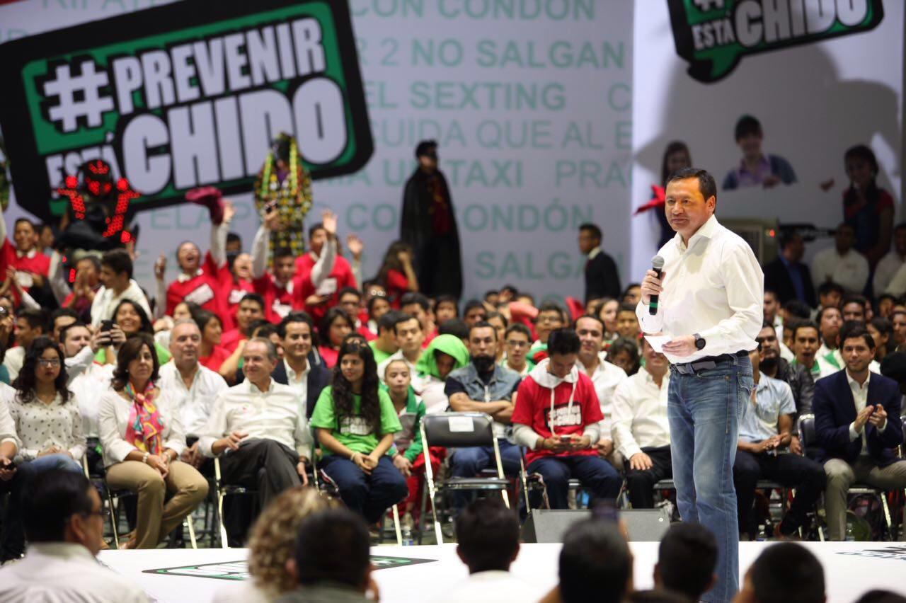 SLP ejemplo nacional en prevención: Osorio Chong